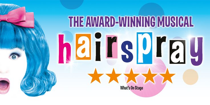 You can't stop the beat with this irresistible feel-good show. Let your hair down & book now: Hairspray tickets are available online or via our Box Office.