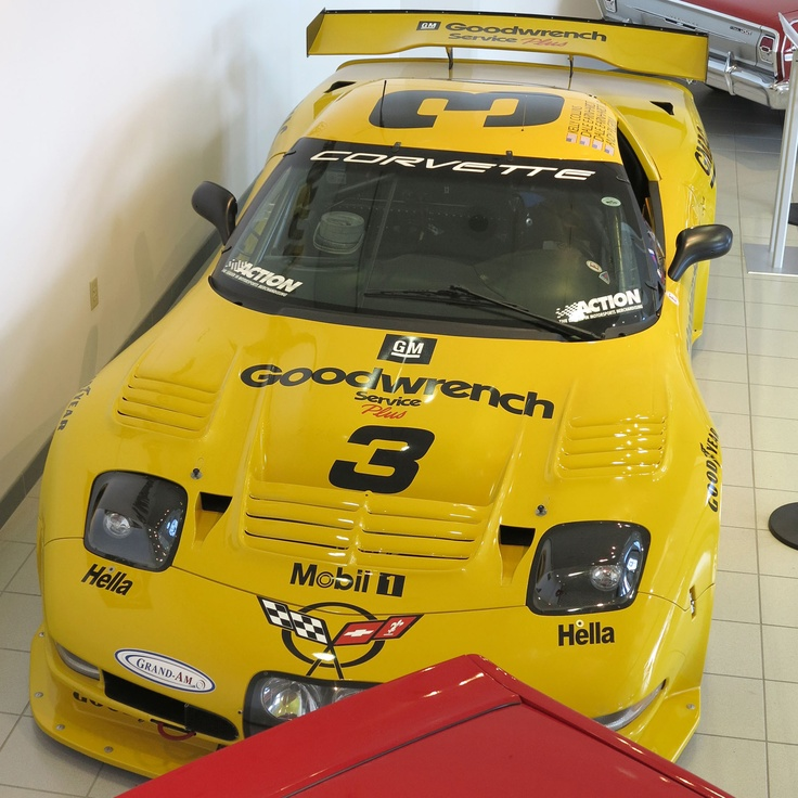 Chevrolet has a proud racing heritage! This pride will be on display with the Earnhardt C-5 Corvette - the last car that Dale, Sr. finished a race in. Photo credit - Mark Usciak