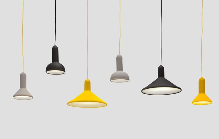 Torch Light Small Cone black with black cable by Sylvian Willenz Principal Collection for Established & Sons (http://www.replicalights.com.au/brands/Sylvain-Willenz.html)