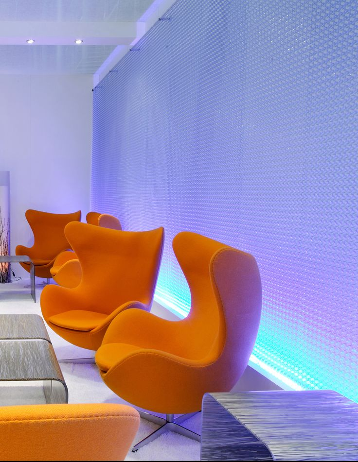 Spacemaile Tension Screen in Bayer HQ Office Bar in Germany