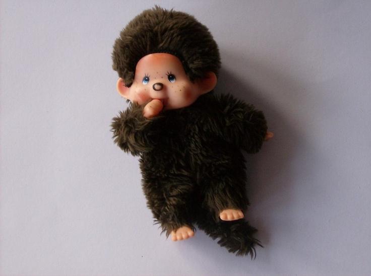 Monchichi - das Original! Vintage 80er Spielzeug