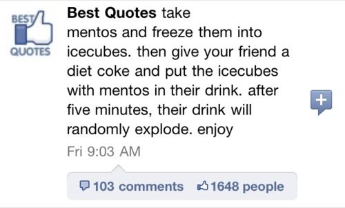 ....i need to try this: Ideas, Laughing, Awesome, Chin, Pranks, April Fools Day, Funny Stuff, Things, Diet Coke