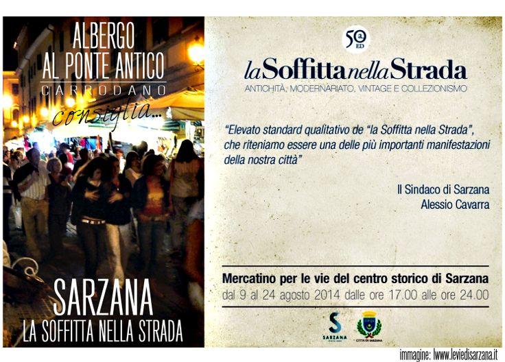 Albergo Al Ponte Antico Consiglia - Sarzana - La Soffitta nella Strada.png