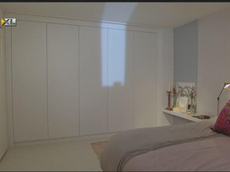 tips rustige slaapkamer : Kastenwand Voor, Inbouwkasten Slaapkamer ...
