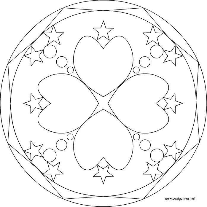 Mandalas Infantiles Para Colorear E Imprimir Az Dibujos Para