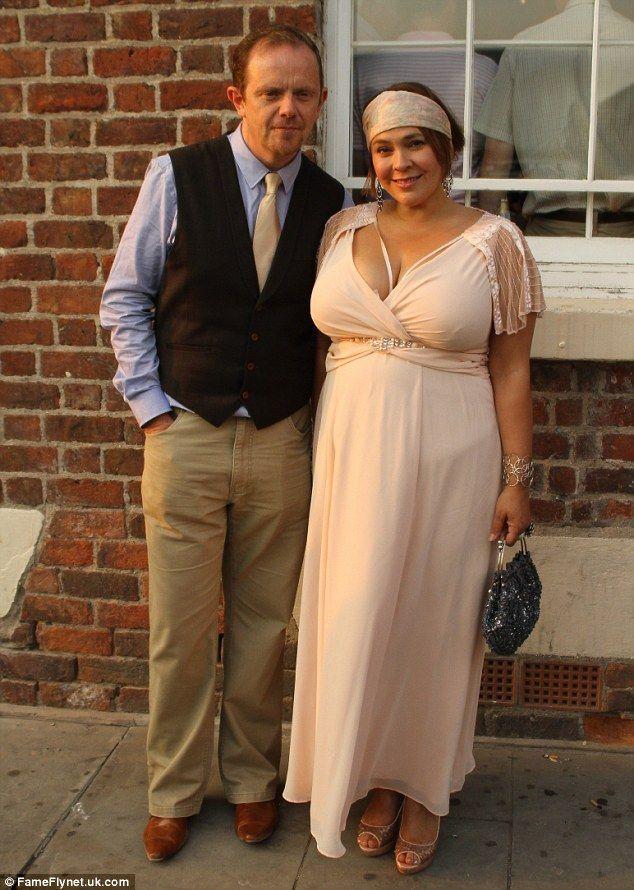 Liam Fox with wife Nicole Barber-Lane.
