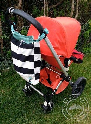 Das Kinderwagentaschending ist Online - Tasche für Kinderwagen, Zwillingswagen, Buggy, Rollstuhl, Rollator oder Laufstall - eine Tasche für alle Fälle