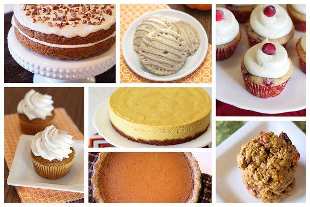 gluten free vegan thanksgiving desserts!
