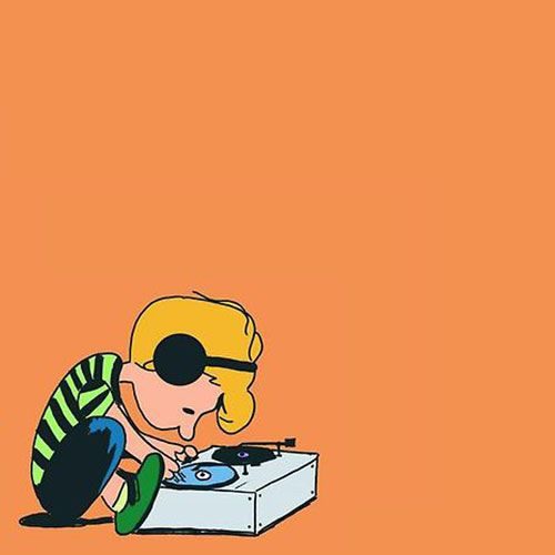 DJ Schroeder .. dropping the sic Charlie Brown house music //\\//\\//\\