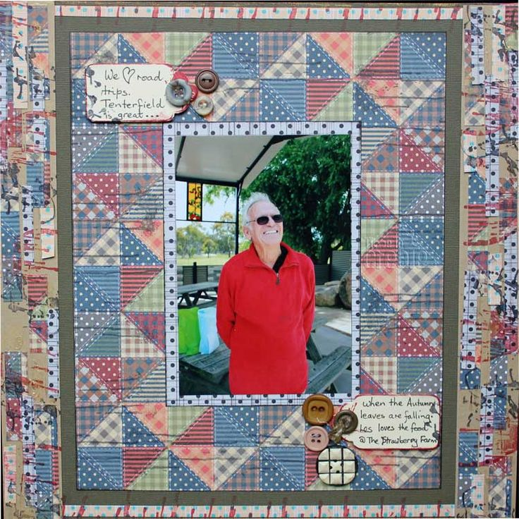 From the SEWJO paper Collection this patchwork design works brilliantly with Super Stars bright red sweater
