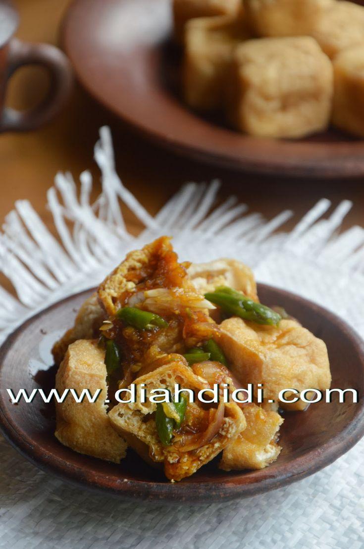 Diah Didi's Kitchen: Tahu Gejrot