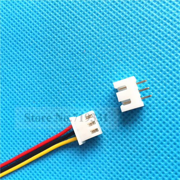 1000sets XH2.54 Single-Head 3Pin 3Way Wire To Board Connector With Socket #Affiliate