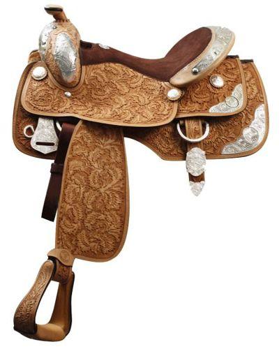 Double T Show Saddle - #06916