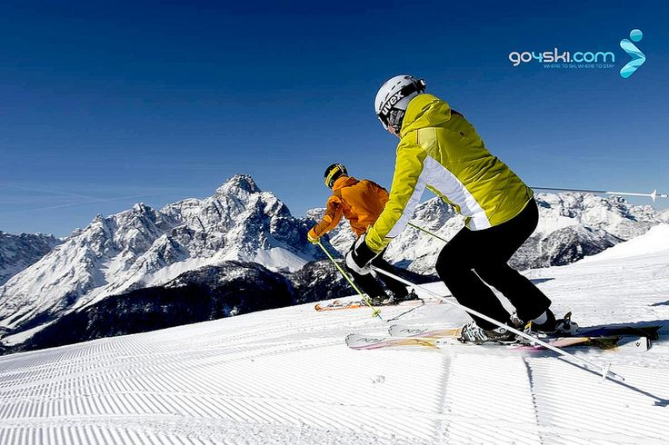 The best slopes in the Dolomites? Discover the area Sextner Dolomiten - Alta Pusteria #Italy: http://buff.ly/1Agz95s