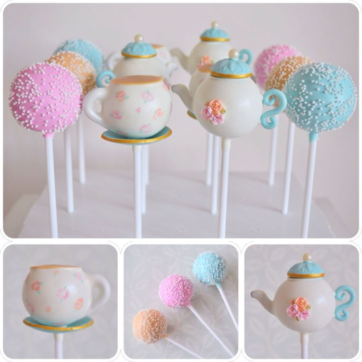 Afternoon Tea Cake Pops