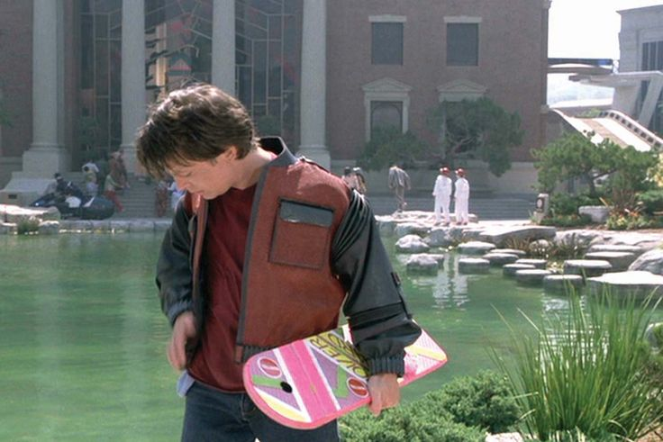 hey hey hey little girl! little girl STOP! I need to borrow your... hoverboard!?