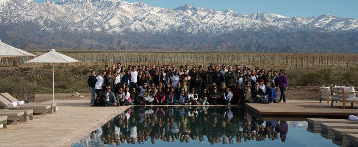 The whole Vines of Mendoza team