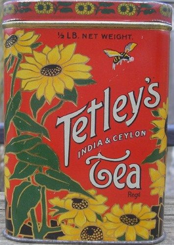 Tetley's India & Ceylon Tea, circa 1920s