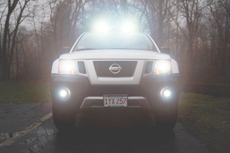 Photographed the Nissan Xterra Pro-4X in the fog today. #beast