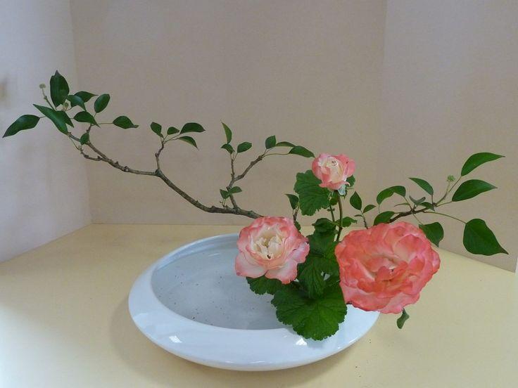 les bouquets - Art floral japonais Moribana Hana Isho
