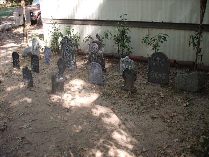Graveyards and Backyards on Pinterest