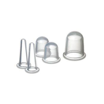 Les massage cup en silicone fonctionnent sur le principe du palper-rouler. Combiné à de l'huile de massage, le va-et-vient de la ventouse favorise la lipolyse, améliore la circulation sanguine réduisant ainsi la cellulite.