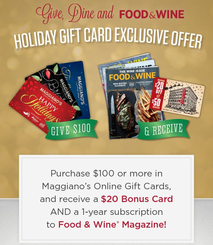 9 best Maggiano's is delicious! images on Pinterest | Gift cards ...