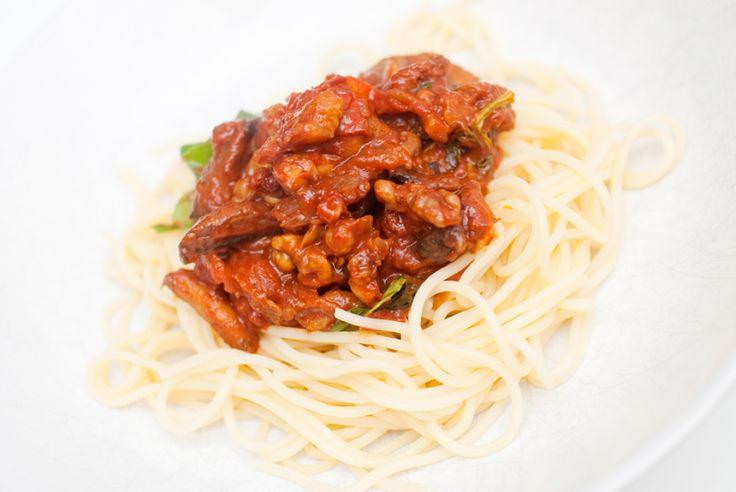 BOLOGNESE: Soppbasert saus som gjør seg nydelig med nykokt pasta.