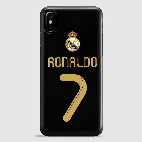 Real Madrid Ronaldo Cr7 Jersey iPhone X Case   casescraft