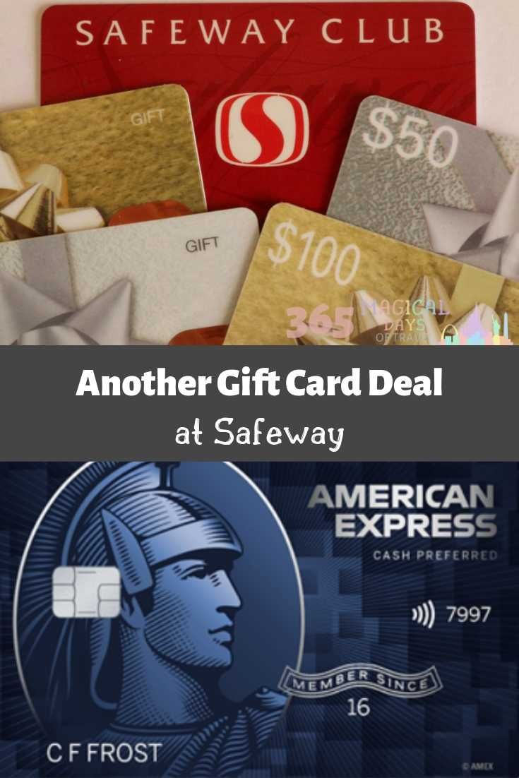 Another gift card deal at safeway gift card deals