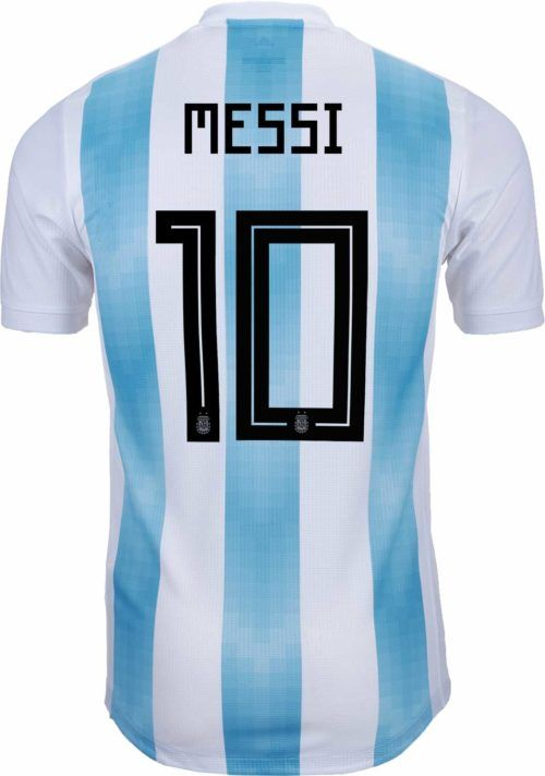 81a899de1 2018/19 adidas Lionel Messi Argentina authentic Home Jersey. Shop for it at  www.soccerpro.com
