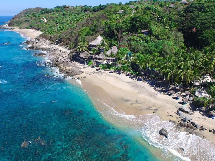Playa Escondida, Mexico - Just 45 minutes north of Puerto Vallarta, this secluded resort boasts airy rooms on a stunning, jungle-fringed stretch of beach in the quant, surf town of Sayulita. (from $165)