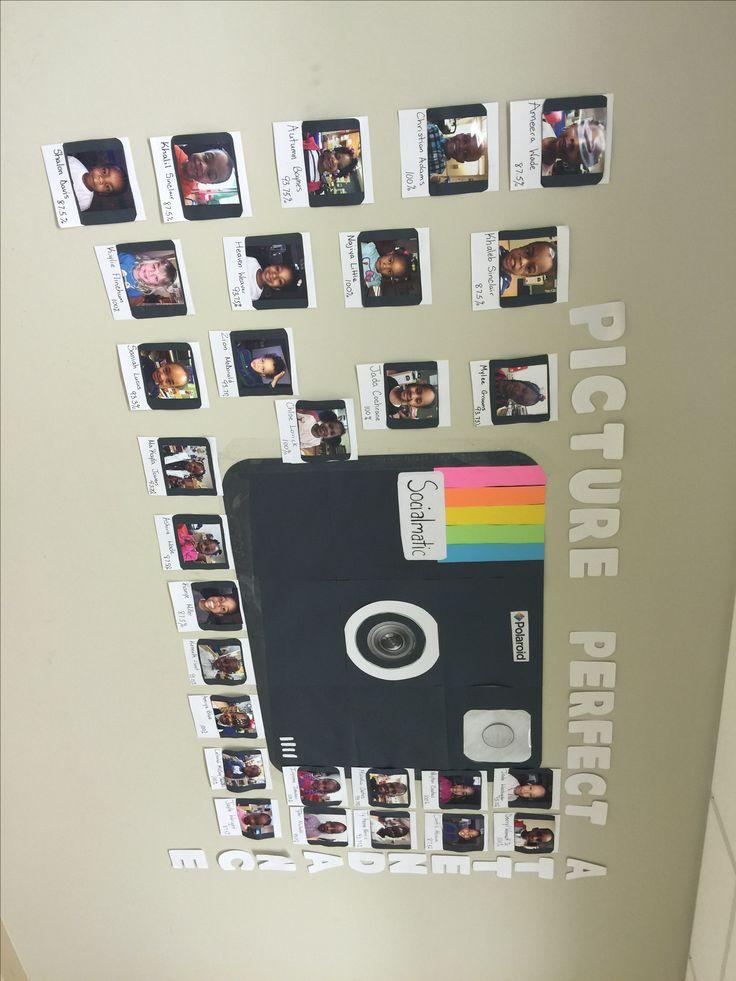 Polaroid Bulletin Board Bulletin Boards Teacher