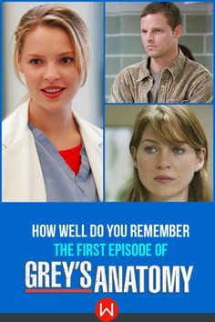 Do you really remember what happened when the interns first came to Seattle Grace? Episode 1 Season 1 of Grey's Anatomy, The first episode of Grey's. Meredith Grey, Izzie Stevens, Karev, Grey's Interns.