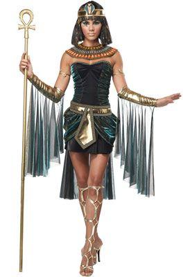 Egyptian Goddess Adult Costume #halloween #cleopatra #costumes