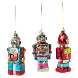 Robot Odyssey Ornament Set Of 3, £9, now featured on Fab.