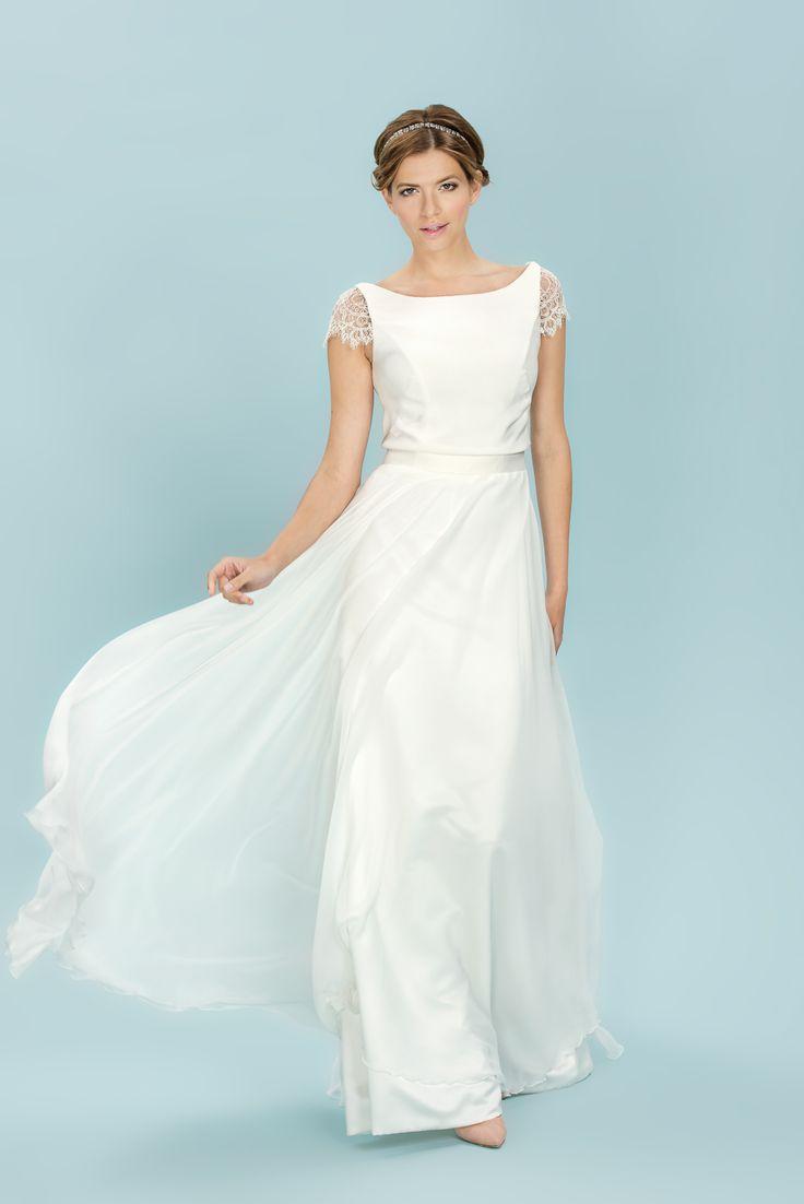 33 best wedding images on Pinterest | Wedding dress, Wedding frocks ...