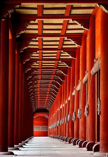 Light At The End by Bobby McLeod. Jongmyo Shrine, Seoul.