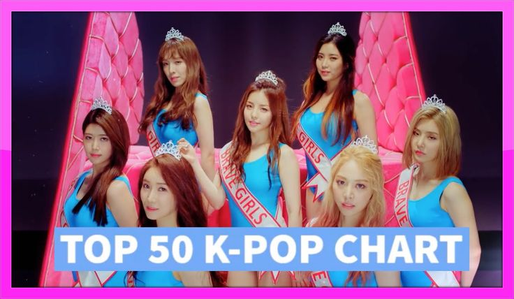 [TOP 50] K-POP SONGS CHART – JULY 2016 (WEEK 1)