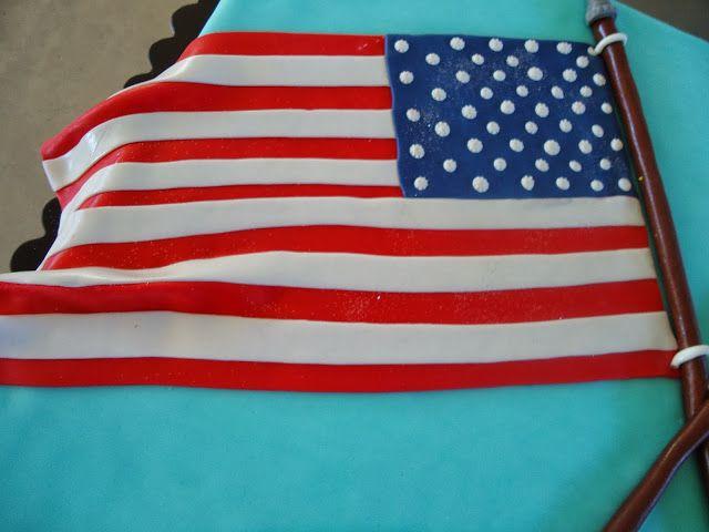 Padaria Pastelaria Doce Tentação: bolo bandeira Portuguesa e bandeira Americana