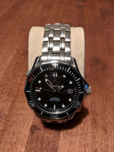 Homage Seamaster Bond 007 automatic diver's watch. (Rolex Omega Breitling)
