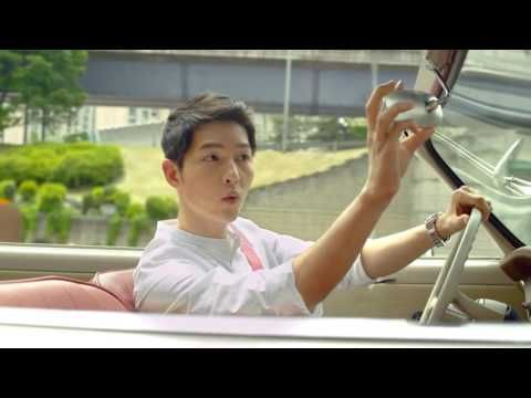 161104 송중기 Song Joong Ki Behind the scenes & 2016 Korea Tourism CF 宋仲基 - YouTube