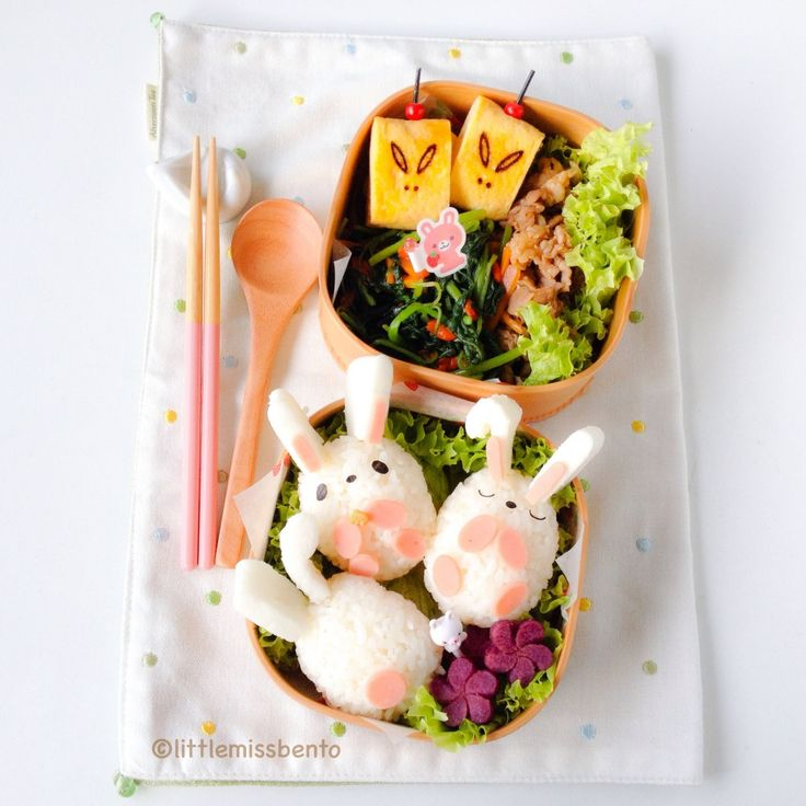 Bunnies Bento Mid Autumn Bento (3)
