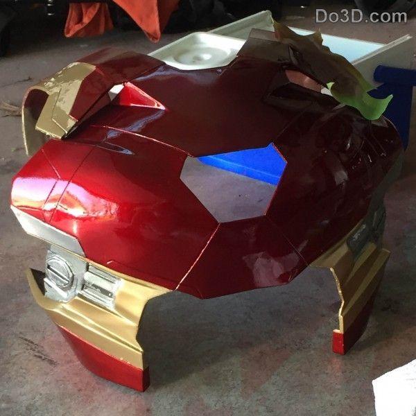 3D Printable Suit: Thanos and Iron Man Mark XLVI Fusion