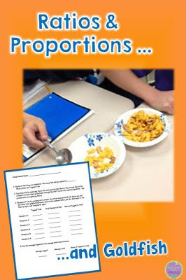 """This is a great """"catch and release"""" lesson for teaching about ratios and proportions~blog post"""