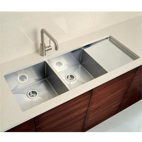 BLANCOPRECISION 10 DOUBLE BOWL WITH INTEGRAL DRAINBOARD By Blanco On  HomePortfolio. Kitchen ...