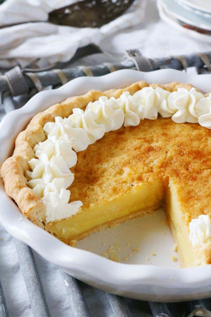 The Best Buttermilk Pie Recipe The Anthony Kitchen Recipe Buttermilk Pie Recipe Easy Pie Recipes Southern Buttermilk Pie