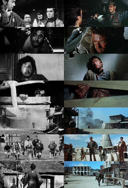 Signor Leone—I have just had the chance to see your film. It is a very fine film, but it is my film. As Japan is a signatory to the Berne Convention on international copyright, you must pay me. — Akira Kurosawa.