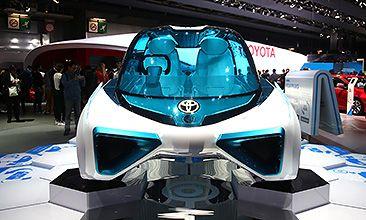 Водородный концепт Toyota FCV Plus – экологически чистый автомобиль будущего