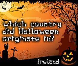 Halloween trivia about its origin